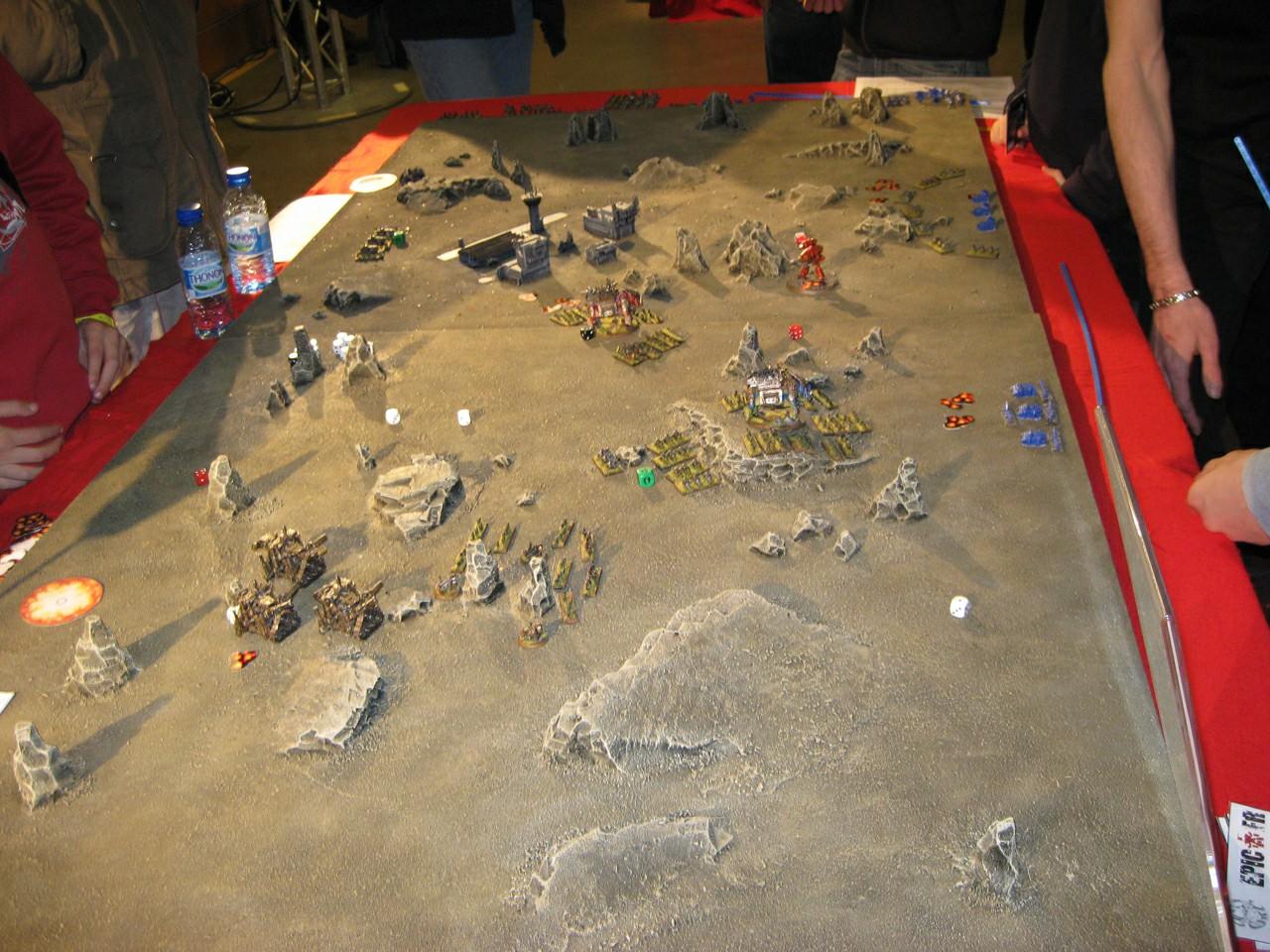 Debrief Gamesday 2008 Table_epic